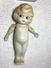 """ANTIQUE GOOGLY / KEWPIE BISQUE  DOLL from JAPAN 7"""" TALL"""