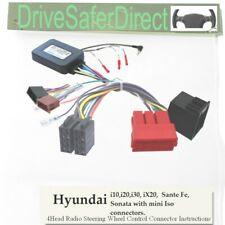 Adaptador De Tallo SWC-2974-02J, iso-unirse para Android Chino Radio/Hyundai i20 09-12