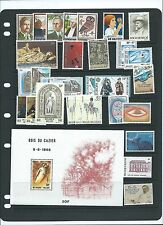 Belgium 1981 MNH sets and s/s CV $37.95