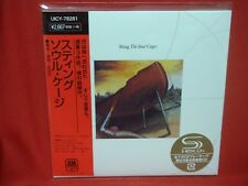 STING The Soul Cages JAPAN Mini LP SHM CD 1991 3rd The Police