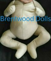 Doe Suede Cuddle Body- Reborn Doll- Bent Arms and Legs- Choose size and colour.