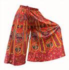INDIAN HANDMADE COTTON HAREM PLAZO YOGA MEN WOMEN TROUSER BAGGY GYPSY BOHO_2