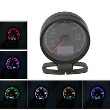 """LED Universal 60mm/2.36"""" Car Turbo Boost Gauge Meter Shift Color RGB Adjustable"""