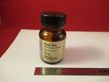 THYMOL BLUE TITRATION INDICATOR for NICOTINE METHYL-BLUE AS PICTURED 92-A-33