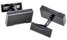 S.T. Dupont Lighter Cufflinks Black PVD 005370N
