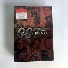 James Bond Ultimate Edition - Vol. 3 - (DVD, 2009, 10-Disc Set) BRAND NEW SEALED