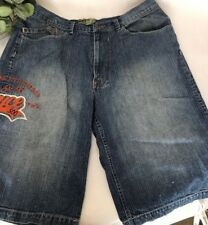 "ENYCE Clothing Company 40"" Blue Jean, 100% Cotton, Embroiderer Enyce 500  Shorts"