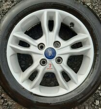 """ford fiesta mk7 mk8 15"""" alloy wheel and continental tyre X1 full size spare"""