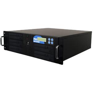 5 Burner Blu-ray DVD CD Rackmount Duplicator Copier Multi Replicating+500GB+USB