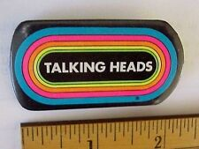 VintageTalking Heads Concert Tour Klos Fm La Radio Station Pinback Button