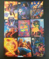 1994 MARVEL MASTERPIECES Promo Uncut Sheet Hildebrandt brothers art. Mint