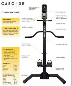 Cascade Vertical Climber Machine - compare to versaclimber
