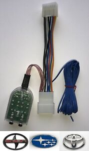 Add An Amplifier Adapter w/Amp Turn On Wire for select Toyota Subaru Scion Lexus