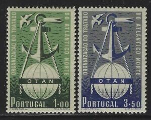 Portugal 1952 NATO set Sc# 747-48 NH