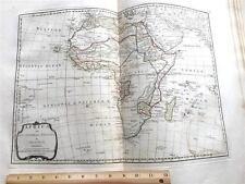 1794 AFRICA ATLAS MAP SAMUEL DUNN ,LAURIE WHITTLE,MADAGASCAR,INDIAN OCEAN