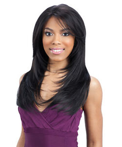 Freetress Equal Synthetic Green Cap Lace Front Wig GIANNA