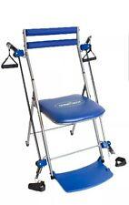 Sedia da palestra esercizio totale corpo sistema con Twister sedile DVD & Blu e Porpora