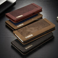 Für Samsung Galaxy S8 Jeans Leder Synthetisch Tasche Etui Case Cover Schutzhülle