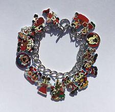 Mickey Mouse Bracelet Disney Christmas Minnie Mouse 15 Charm