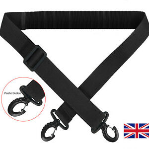 Nylon Bag Shoulder Strap Adjustable Replacement Handbag Strap Black UK Dispatch
