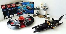 *No Minifigs* LEGO Super Heroes Black Manta Ship   Bat Boat - Split from 76027