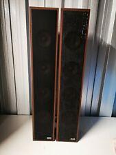 Vintage Klein & Hummel Ts20 Speakers  Set Of 2