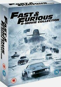 Fast & Furious: 8-movie Collection (Box Set with Digital Download) [DVD] ⭐⭐⭐⭐⭐