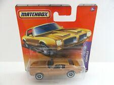 Matchbox Superfast Pontiac Firebird Formula - Gold - Mint/Boxed