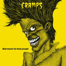 The Cramps - Bad Music For Bad People LP RE NEW / LMTD EDITION YELLOW VINYL