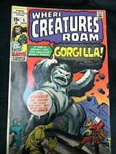 Where Creatures Roam # 5 - Gorgilla - Marvel 1970