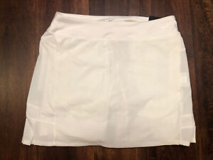 NWT Nike Golf Pleated Women's Skirt Skort Size Small Cream White