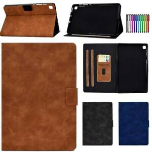 """For Samsung Galaxy Tab A A6 S6 Lite 10.4"""" Tablet Leather Protective Case Cover"""