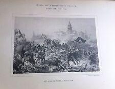 1848 GUERRA D'INDIPENDENZA ATTACCO DI SOMMACAMPAGNA