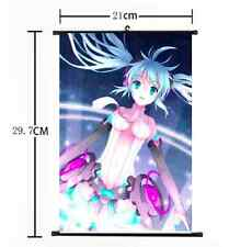 HOT Anime Hatsune Miku Kagamine Wall Poster Scroll Home Decor Cosplay 1177