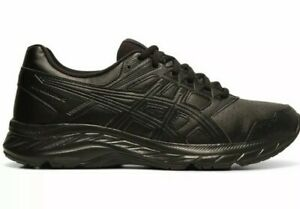 ASICS Gel-Contend  5 SL Black Trainers Walking Shoes Women's Size 8.5 1132A043