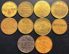 Lot of 10x Various Gaming Tokens - Great Condition