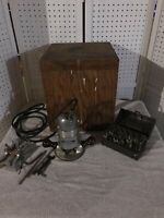 Vintage Stanley Electric Router With Box & Accessories
