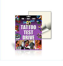 Temporary Tattoo Paper. See your tattoo on you before making it permanent! 1pk