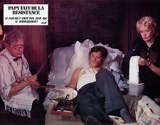 MICHEL GALABRU PAPY FAIT DE LA RESISTANCE 1983  PHOTO D'EXPLOITATION N°7