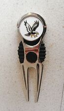 1 Only Eagle Golf Ball Marker & Golf Divot Tool Very Classy Item