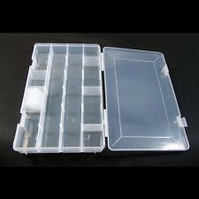 Clear beads box case storage organizer containers fishing lure tackle BOX309