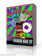 Deluxe LEVITATION MAGIC SET DVD Floating Tricks Beginner Kit Magician Stiff Rope