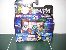 Marvel Minimates Taskmaster and Nathen Spencer Exclusive Set Capcom