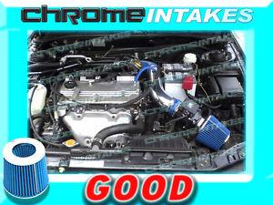 BLUE 01 02 03-05 CHRYSLER SEBRING/DODGE STRATUS 2.4L I4/3.0L V6 AIR INTAKE KIT
