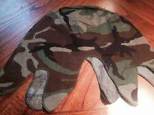 M1 Steel Pot Helmet Cover Unissued Military Surplus Woodland