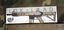 Colt Canada MRR 11.6S Sticker.