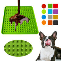 Pet Food Mat for Dogs Cats Feeder Slow Licky Mats Licki Feeding Dogs Cats