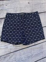 """Size 8 Market and Spruce Women Blue Shorts 5"""" Inseam Excellent Condition"""