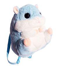 Kawaii Blue Hamster Plush Backpack Bag Cute Japan Jfashion Lolita Pastel Kei