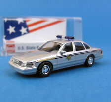 Busch H0 49081 FORD CROWN VICTORIA US State Police 36 SOUTH CAROLINA HO 1:87 box